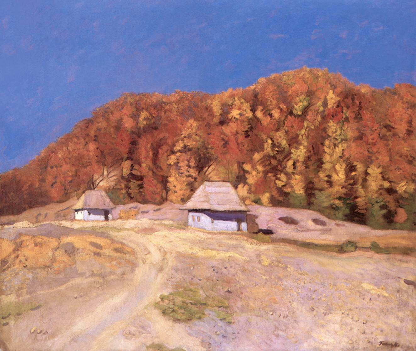 Beech Forest 1908 | Karoly Ferenczy | oil painting