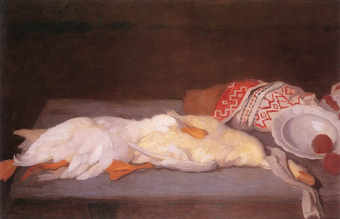 Still-life with Duck 1910 | Karoly Ferenczy | oil painting