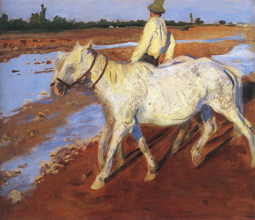 Horses 1899 | Karoly Ferenczy | oil painting