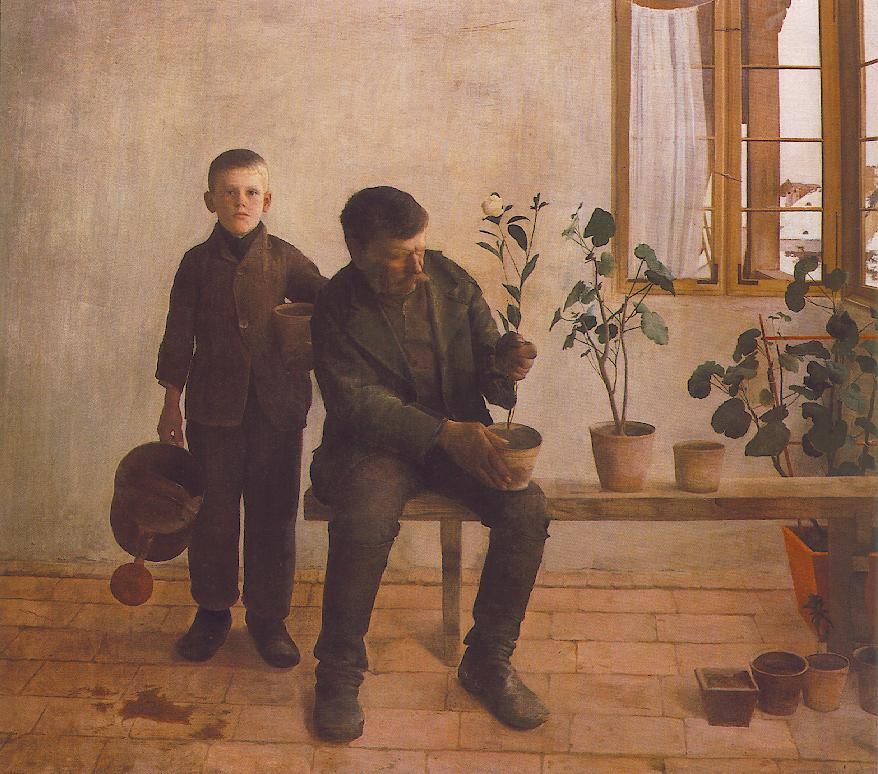 Gardeners 1891 | Karoly Ferenczy | oil painting