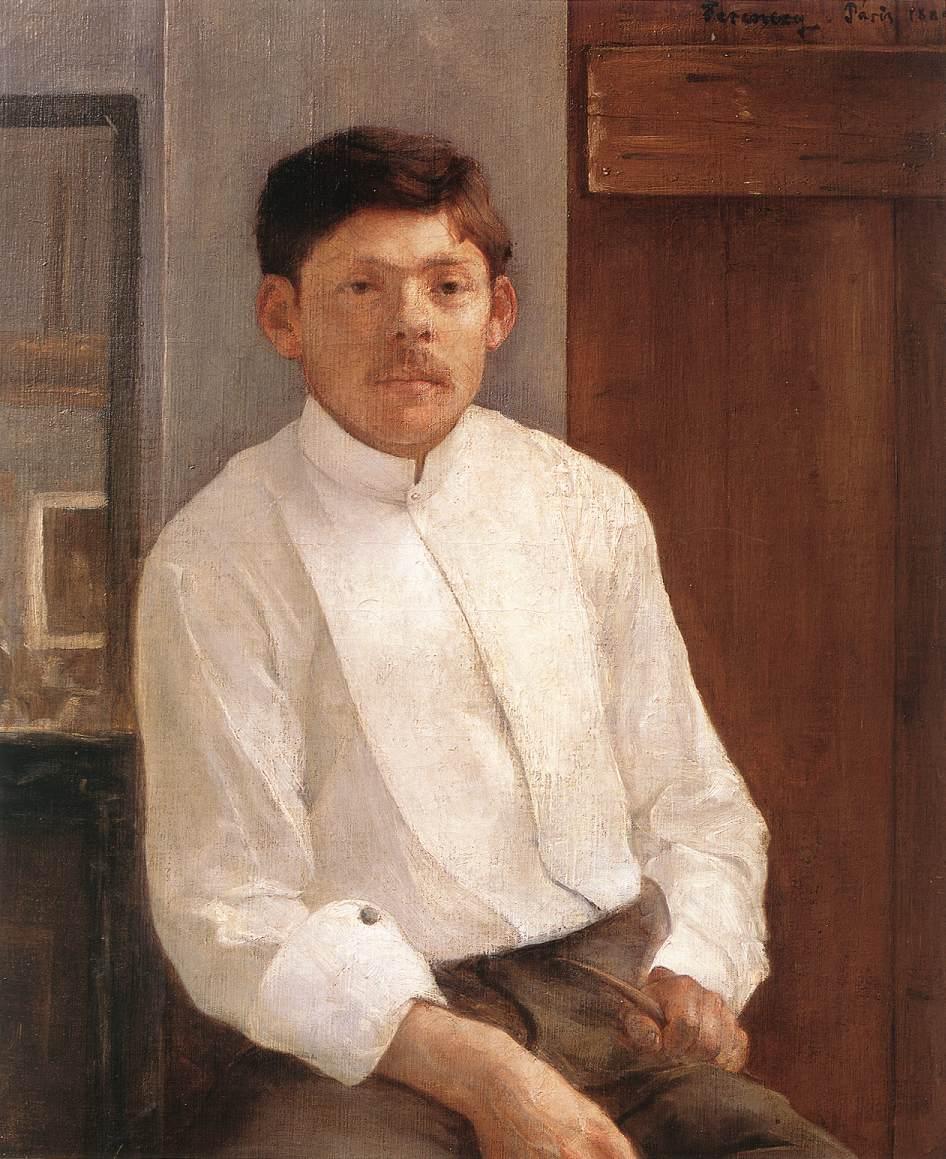 Ede Kallos 1889 | Karoly Ferenczy | oil painting