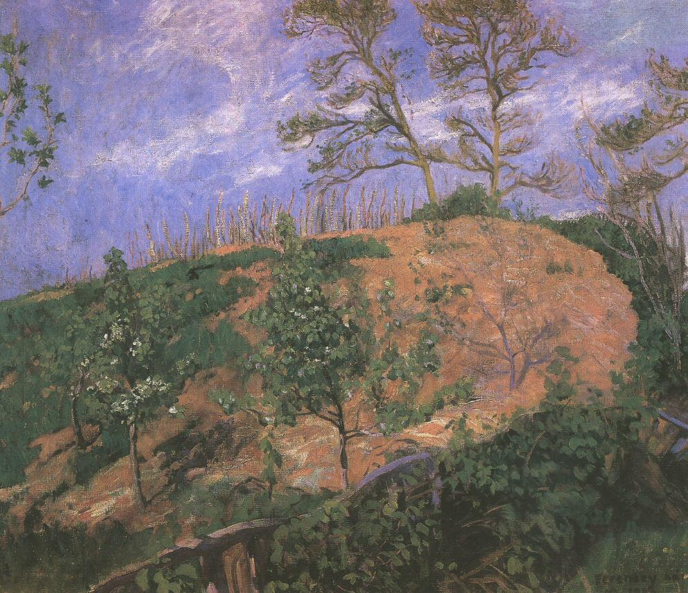 Landscape in Spring 1905 | Karoly Ferenczy | oil painting
