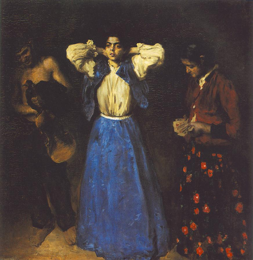 Gipsies 1901 | Karoly Ferenczy | oil painting