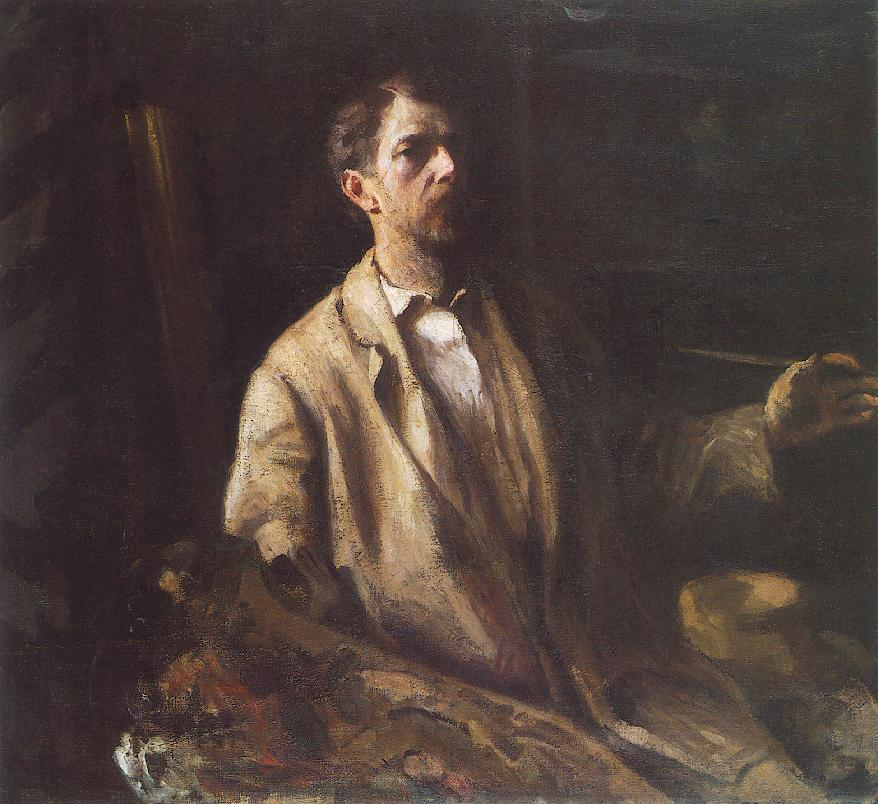 Self-portrait 1903 | Karoly Ferenczy | oil painting
