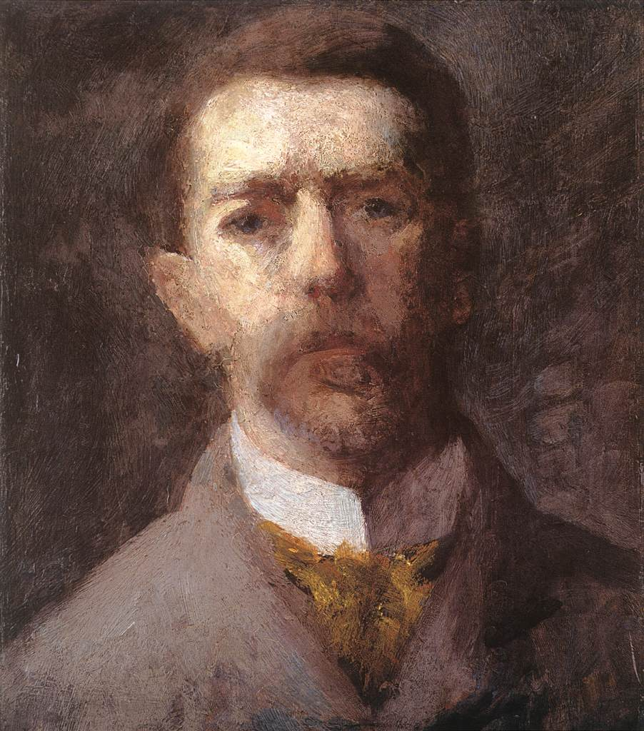 Self-portrait 1910 | Karoly Ferenczy | oil painting
