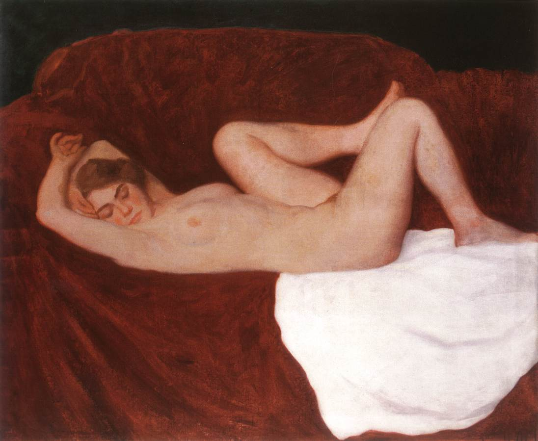 Sleeping Woman 1912 | Karoly Ferenczy | oil painting