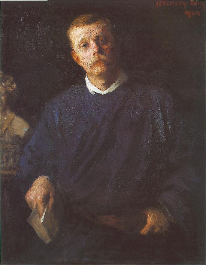 Portrait of Dezso Malonyai 1904 | Karoly Ferenczy | oil painting