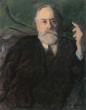 Portrait of Pal Szinyei Merse 1910 | Karoly Ferenczy | oil painting
