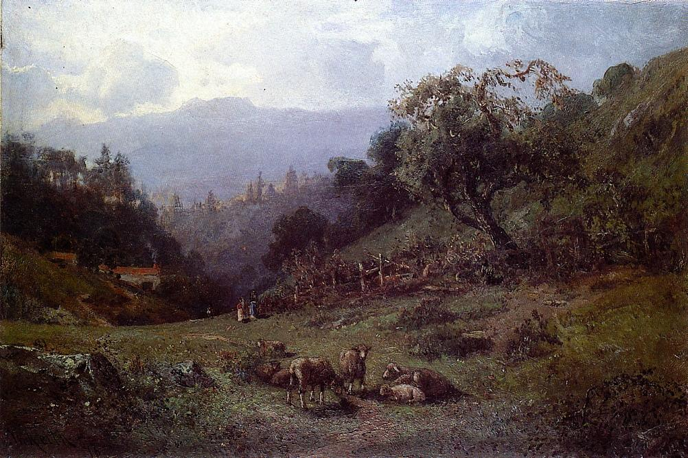 Pastoral Landscape 1876 | Keith William | oil painting