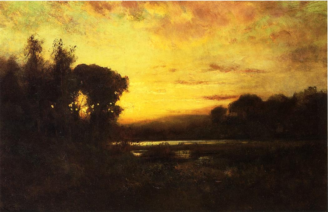 Wetlands at Sunset Date unknown | Keith William | oil painting