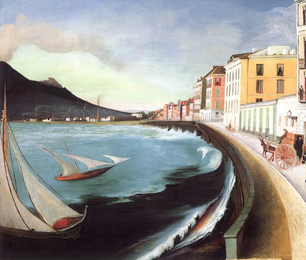 Castellamare di Stabia 1902 | Kosztka Tivdar Csontvary | oil painting