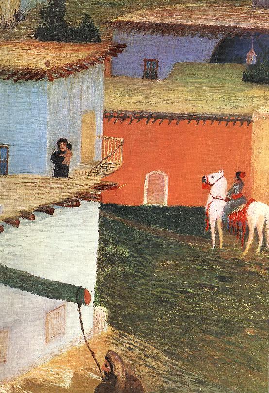 Baalbek (detail) 1906 3 | Kosztka Tivdar Csontvary | oil painting