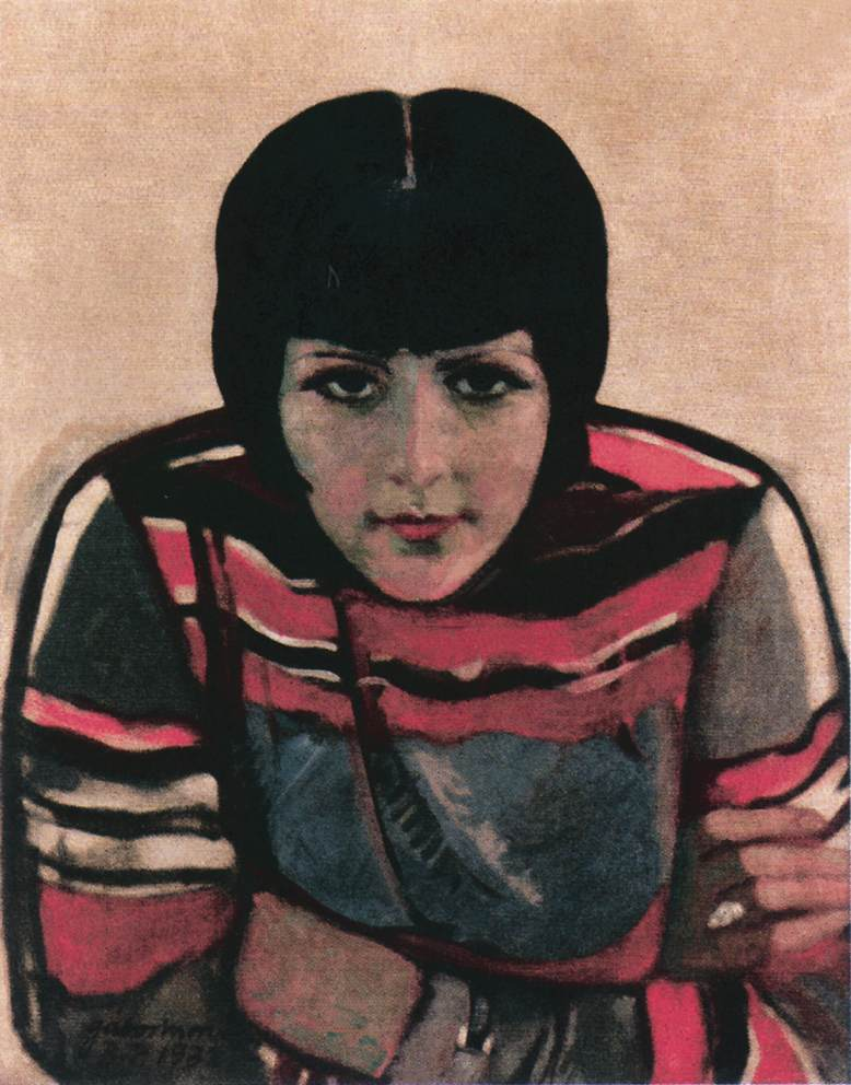 Giulietta 1932   Moric Gabor   oil painting