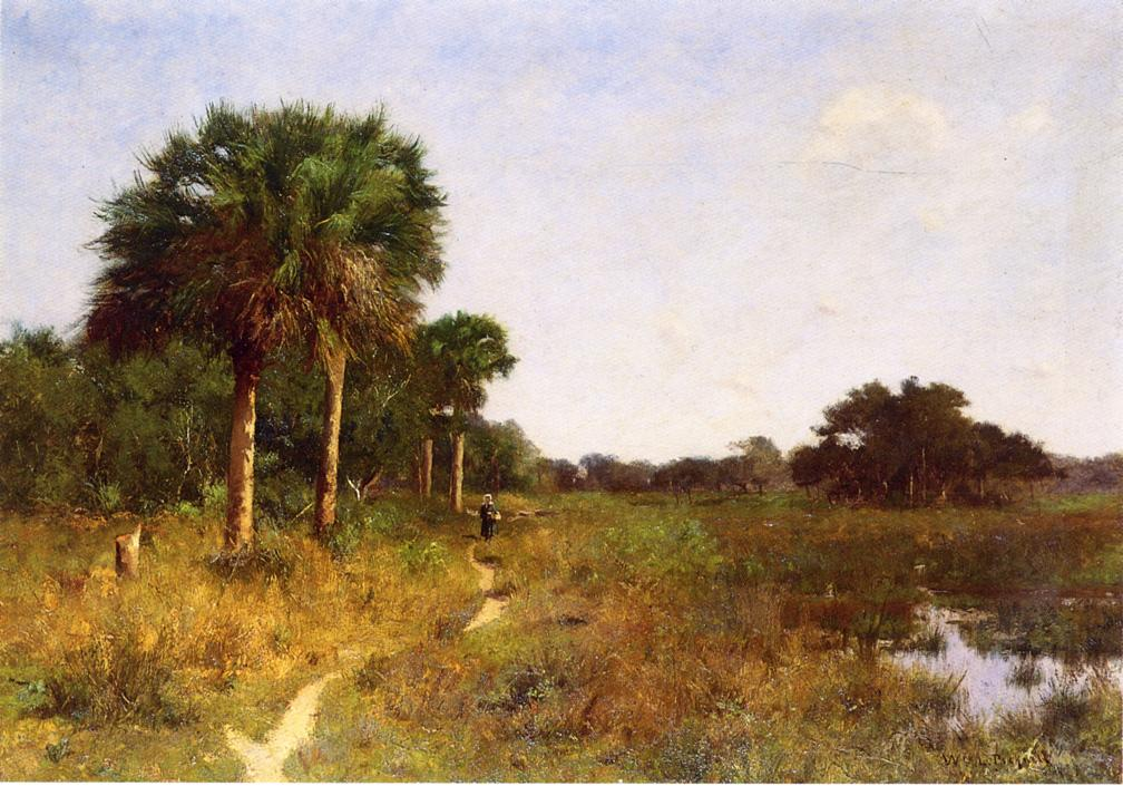 Midwinter in Florida Date unknown | Picknell William Lamb | oil painting