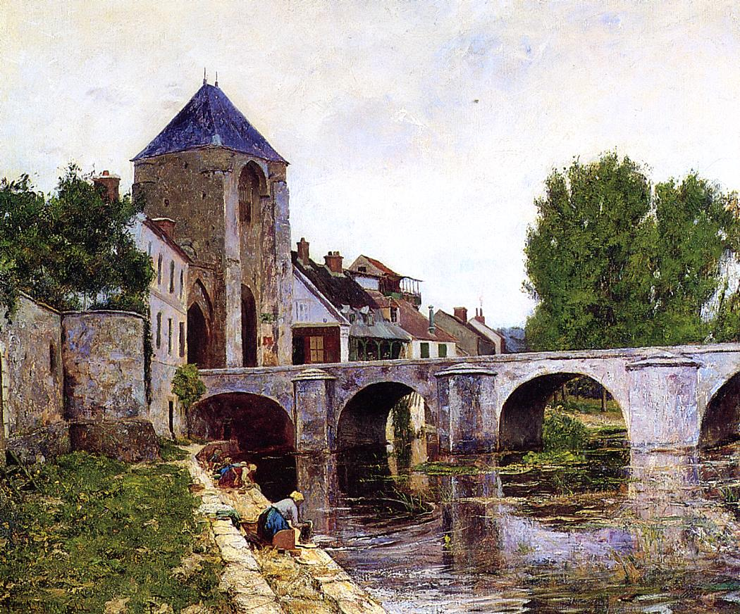 Grey Day Moret 1895 | Picknell William Lamb | oil painting