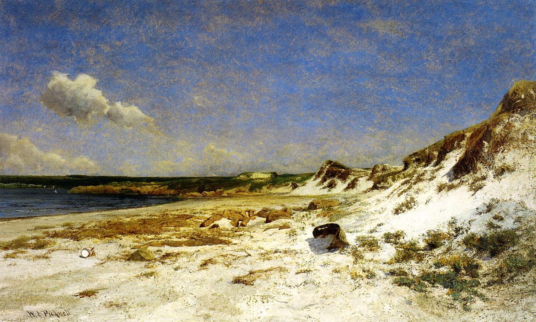 Wingaersheek Creek Beach Gloucester Massachusetts 1887 | Picknell William Lamb | oil painting