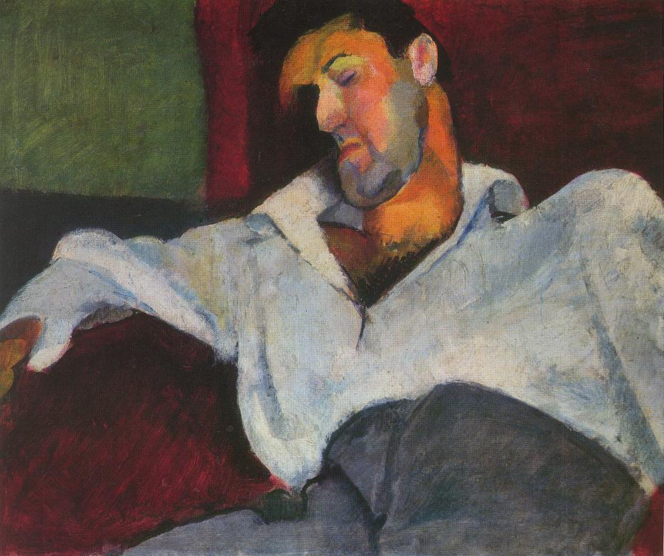 Portrait of Composer Leo Weiner 1911 | Robert Bereny | oil painting