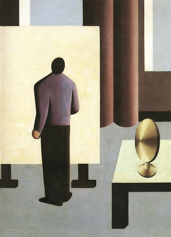 The Painter 1932 | Sandor Bortnyik | oil painting