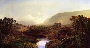 Mountain Landscape New York State 1869 | Sonntag William Louis | oil painting