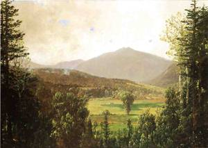 White Mountain Landscape 1881 | Sonntag William Louis | oil painting