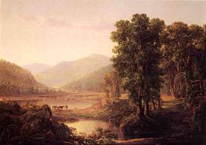 Early Autumn Morning Western Virginia 1856 | Sonntag William Louis | oil painting