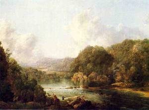 Duck Hunters on the Ohio River 1850 | Sonntag William Louis | oil painting
