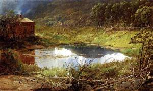 The Pond | Sonntag William Louis | oil painting
