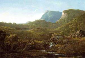 Valley Landscape (aka Cincinnati) 1852 | Sonntag William Louis | oil painting