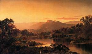 River View 1864 | Sonntag William Louis | oil painting