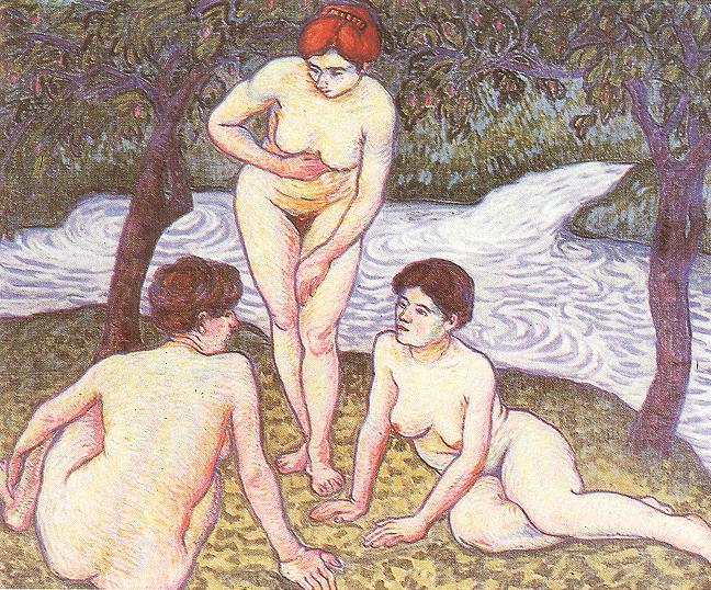 Bathers 1909 | Tibor Boromisza | oil painting