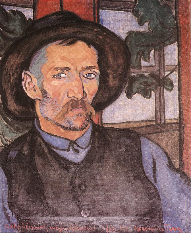 Portrait of Uncle Csorba 1910 | Tibor Boromisza | oil painting
