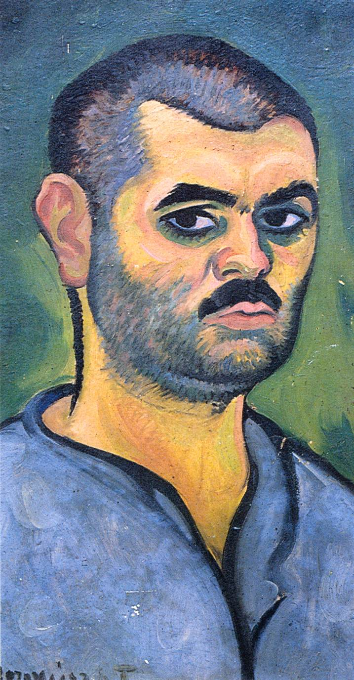Self portrait 1910 | Tibor Boromisza | oil painting