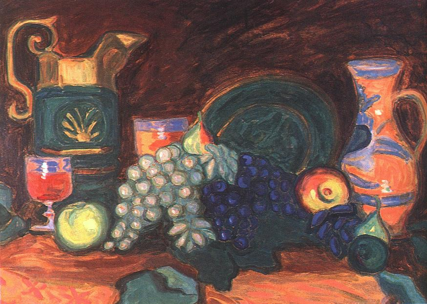 Still life 1909 | Tibor Boromisza | oil painting