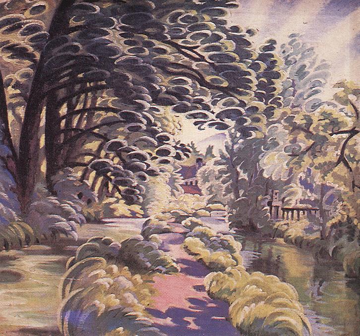 Early Morning Light 1913 | Tibor Boromisza | oil painting