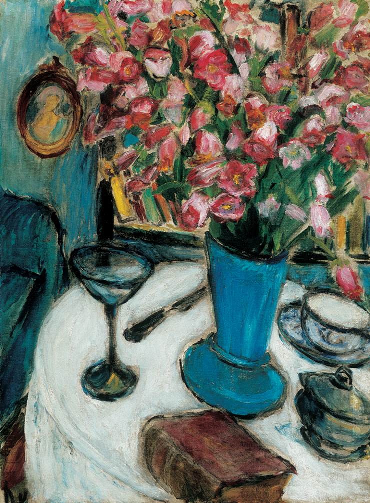 Still-life with Flowers 1908-10 | Valeria Denes | oil painting