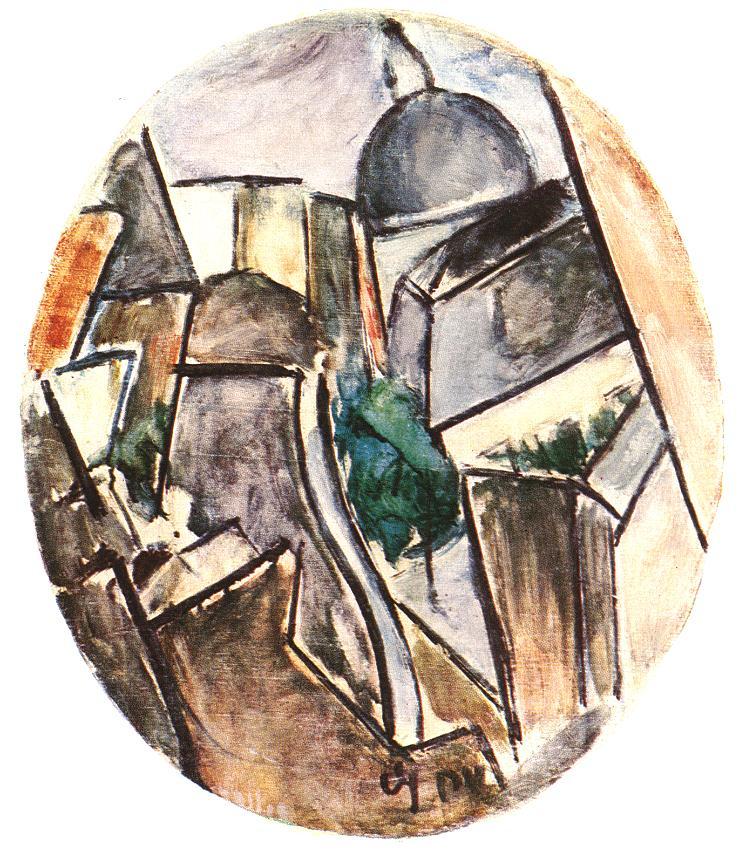 Street 1913 | Valeria Denes | oil painting
