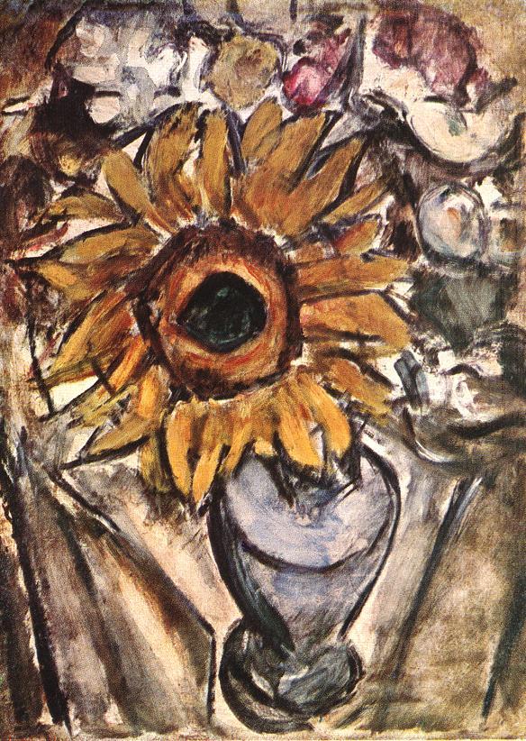 Sunflower 1913 | Valeria Denes | oil painting