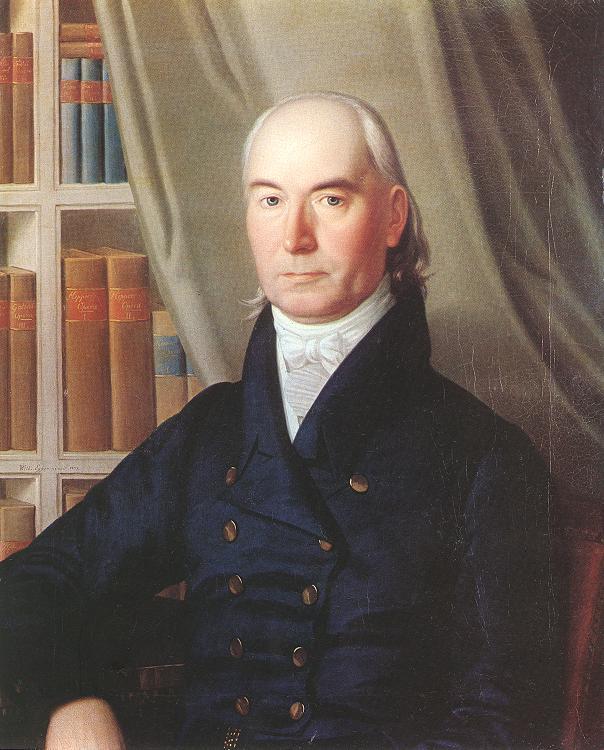 Portrait of Professor Ferenc Bene 1825 | Vilmos Egger | oil painting