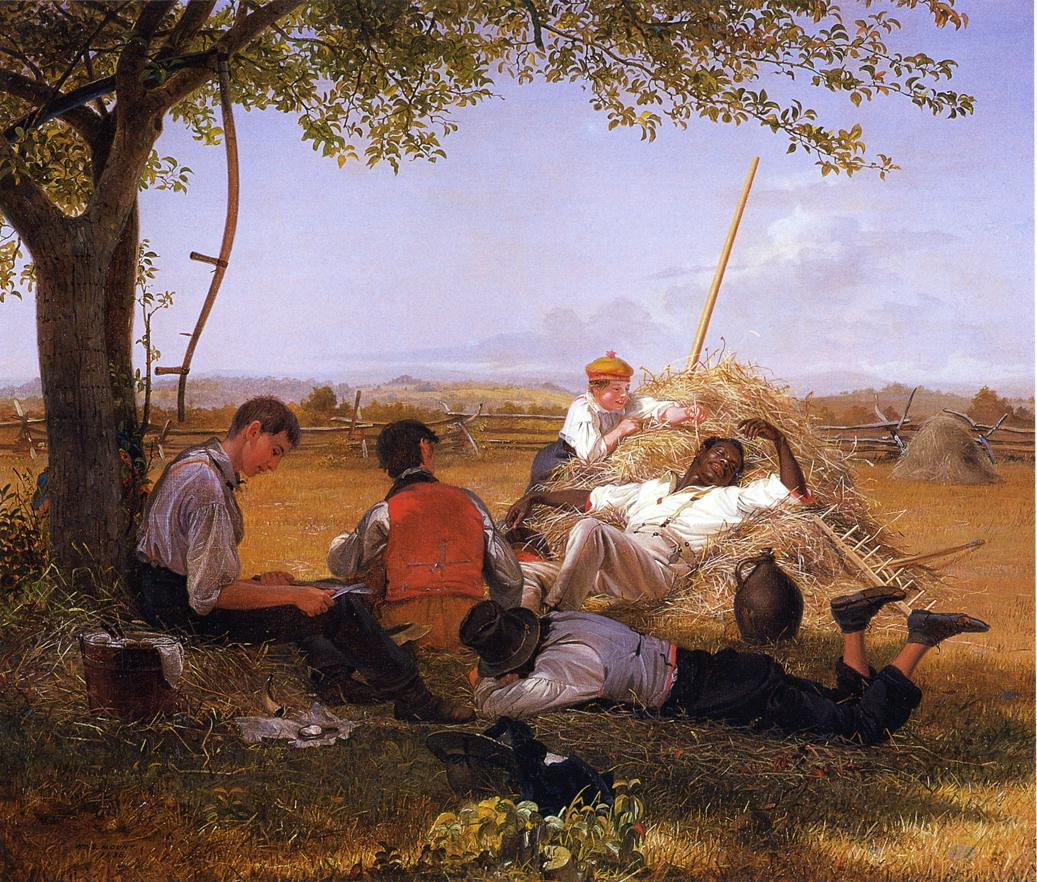 Farmers Nooning 1836 | William Sidney Mount | oil painting
