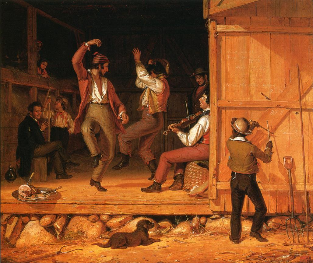Dance of the Haymakers 1845 | William Sidney Mount | oil painting