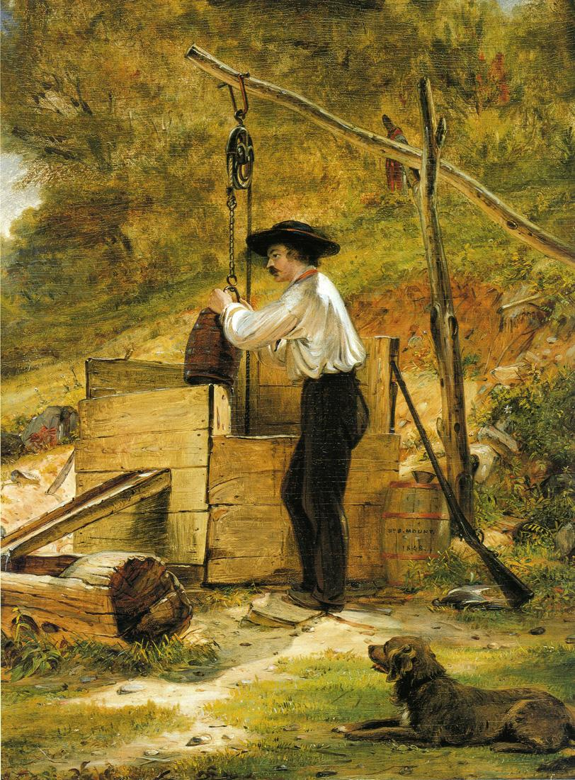 At the Well 1848 | William Sidney Mount | oil painting