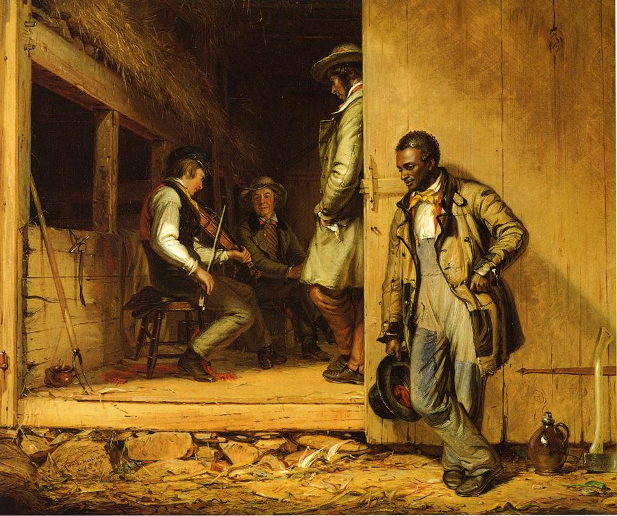 The Power of Music 1847 | William Sidney Mount | oil painting