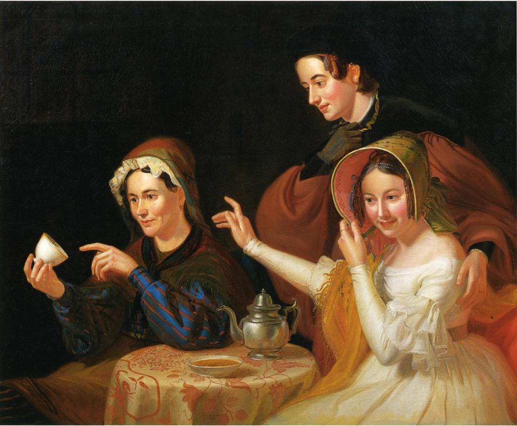 Dregs in the Cup (aka Fortune Telling) 1838 | William Sidney Mount | oil painting