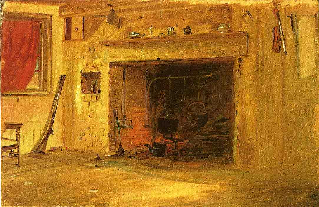 Kitchen in the Mount House, Stony Brook