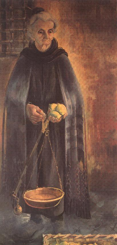 Lemon Seller 1935 | Zoltan Borbereki Kovacs | oil painting