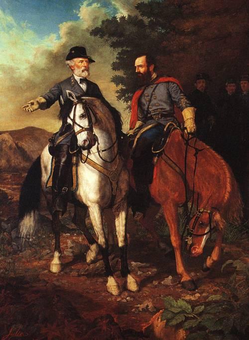 The Last Meeting Of Lee And Jackson 1864 | Everett B D Julio | oil painting