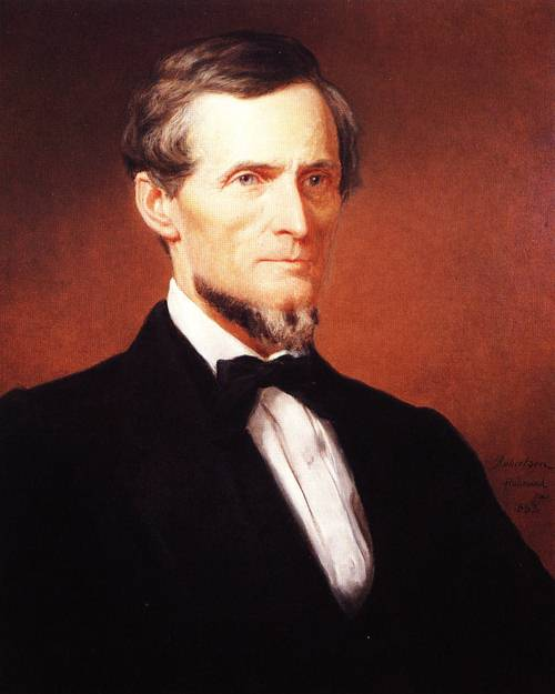 His Excellency Jefferson Davis 1863 | John Roy Bobertson | oil painting