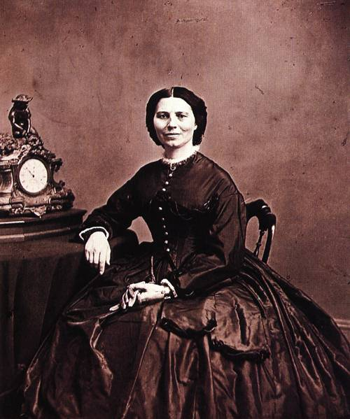 Clara Barton 1866 | Mathew Brady | oil painting