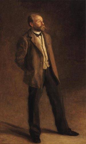 Portrait of John McLure Hamilton | Thomas Eakins 1895 | oil painting