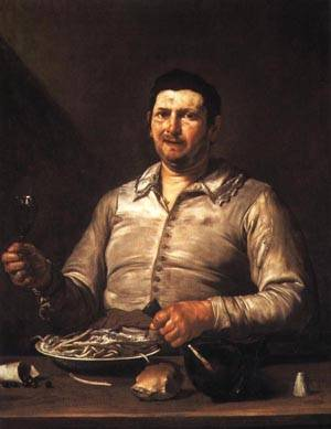 The Sense of Taste | Jusepe de Ribera 1614 1616 | oil painting